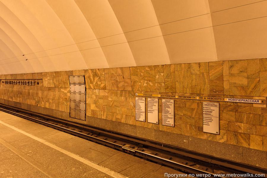 схема выходы из метро новочеркасская
