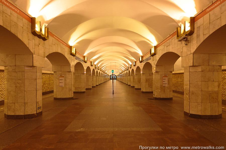 Площадь Александра Невского Правобережная линия Санкт-Петербург Прогулки по метро